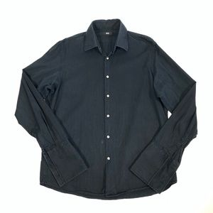 BOSS HUGO BOSS L/S Striped French Cuff Dress Shirt